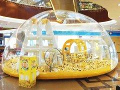 兒童充氣水(shui)晶(jing)宮海洋球池游樂